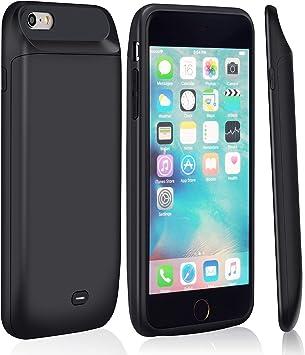 Funda Bateria iPhone 6s/6,MSDJK 5000mAh Carcasa Bateria, Externa ...