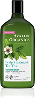 product image for Avalon Organics Scalp Treatment Tea Tree Conditioner, 11 oz