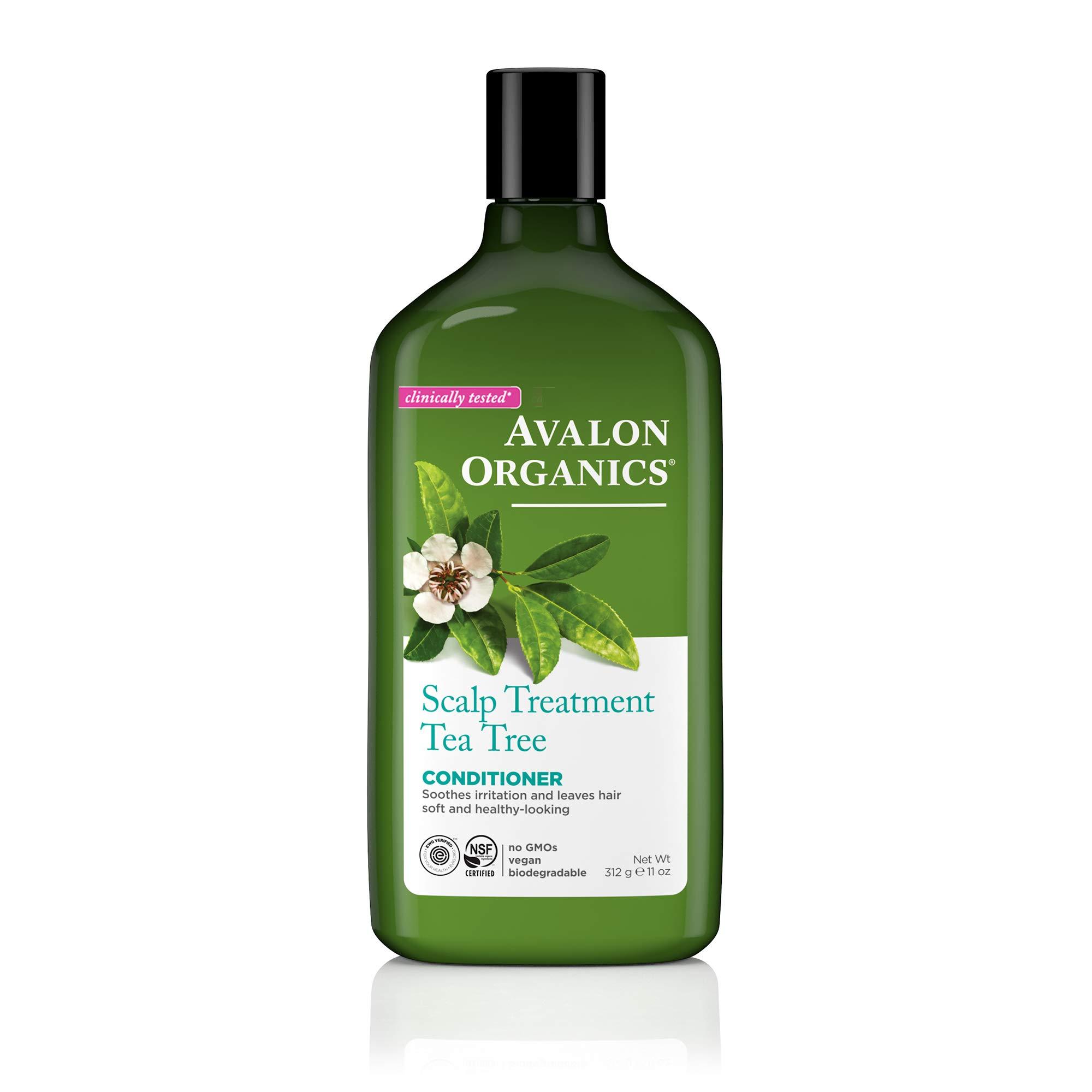 Avalon Organics Conditioner, Scalp Treatment Tea Tree, 11 Oz