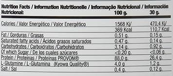 Quamtrax Proteina ISOPRO CFM Sabor Vainilla con Canela- 907 gr