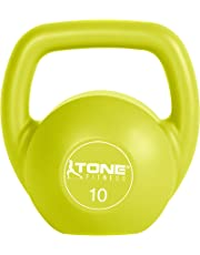 (Lime- 10 Pound) - Tone Fitness Kettlebell