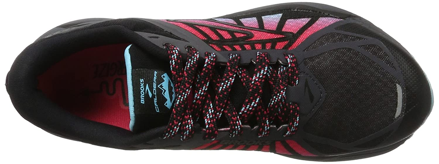 Brooks Womens Caldera B01GF7J66A 6 B(M) US|Anthracite/Azalea/Black