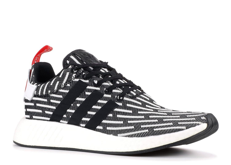 adidas Originals Men's NMD_r2 Pk Sneaker B0768MV5L7 11.5 D(M) US|Black/White