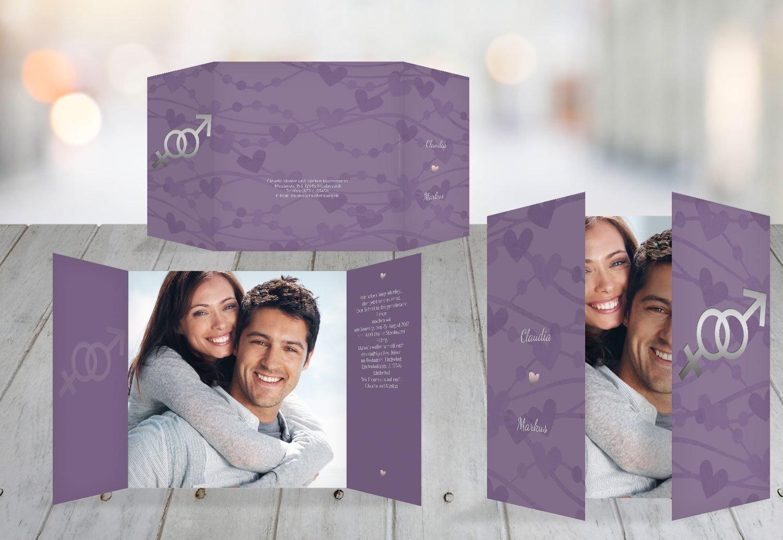 Kartenparadies Hochzeitskarte Einladung Im Zeichen der Liebe, hochwertige Einladung zur Heirat inklusive Umschläge   10 Karten - (Format  145x145 mm) Farbe  DunkeltiefBlau B01N134JRL   Queensland    Perfekte Verarbeitung    Sehen Sie die Welt aus d