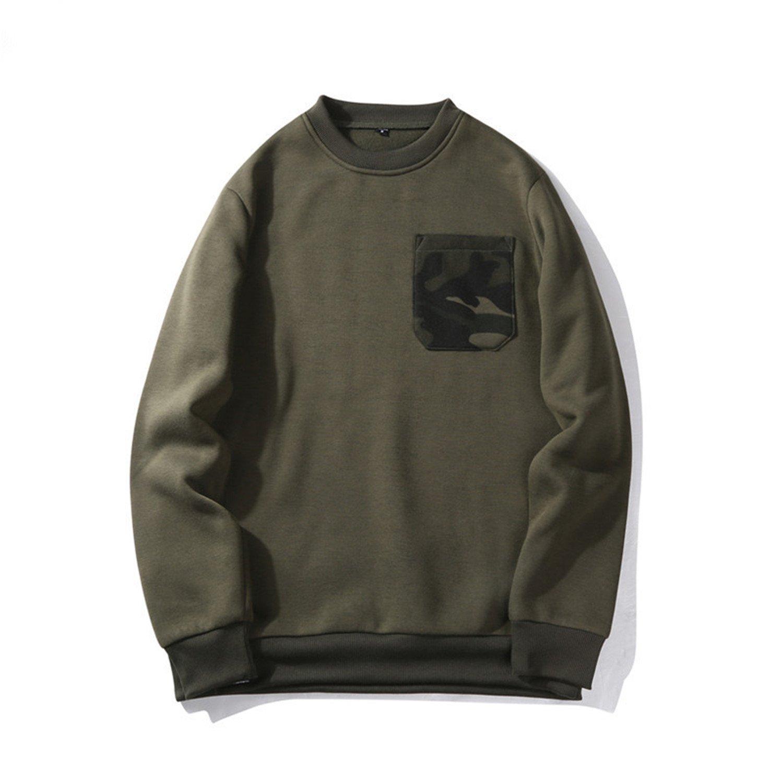 3580100df978dd Army Green3 Thadensama Sweatshirt Hoodies Men 2017 New Male Male Male Hip  Hop Autumn Military Fleece c21a08