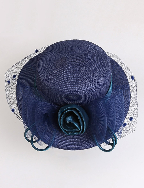 Sombrero de playa Sun Sombrero Sombrero Sombrero retro Sombrero redondeado Sombrero femenino del sombrero de Sun del sombrero de Sun de la cara Suave y confortable ( Color : 2 ) 7ba725