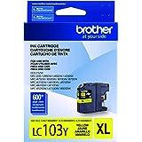 Brother LC-103Y DCP-J132 J152 J171 J4110 J552 J752 MFC-J245 J285 J4310 J4410 J450 J4510 J870 J875 Ink Cartridge (Yellow) in R