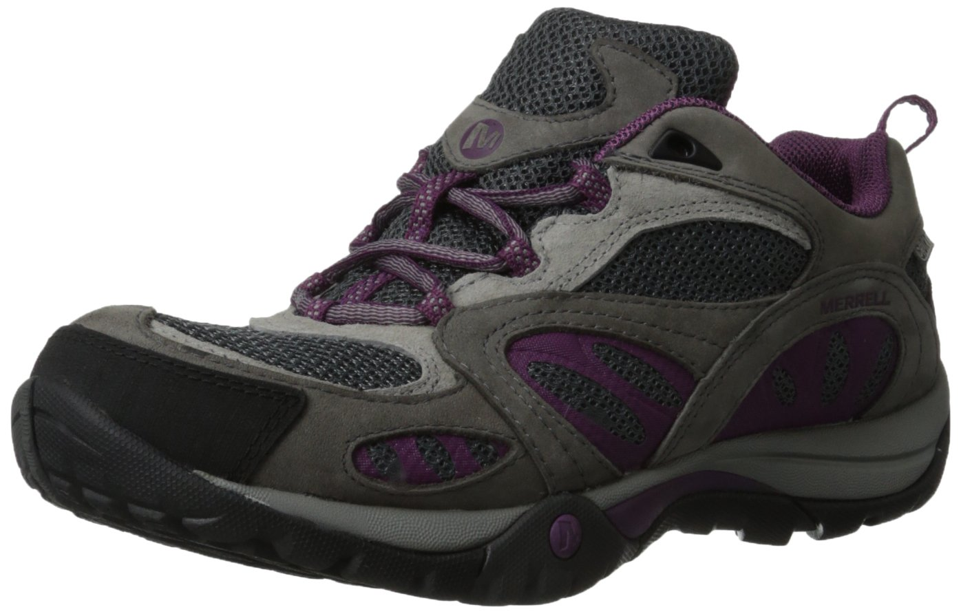 Merrell Women's Azura Waterproof Hiking Shoe B00D1PA98E 7.5 B(M) US|Castle Rock/Purple