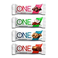 ONE Protein Bars, Chocolate Lovers Variety Pack, Gluten Free 20g Protein and only...