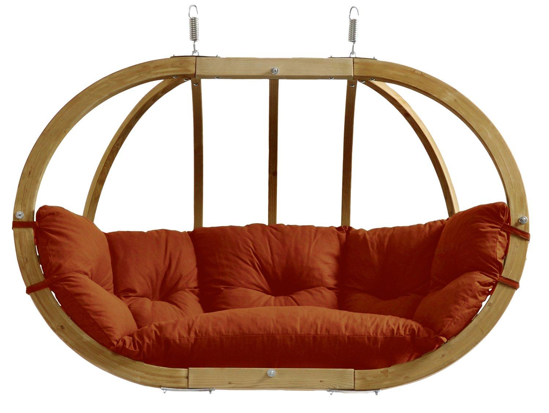Amazonas Kugelgestell Hängesessel Globo Royal Chair terracotta