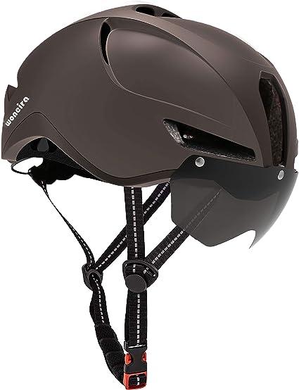 Cycling Helmet Ultralight Bike Helmets Men Women Bicycle Head Protect /& Goggles