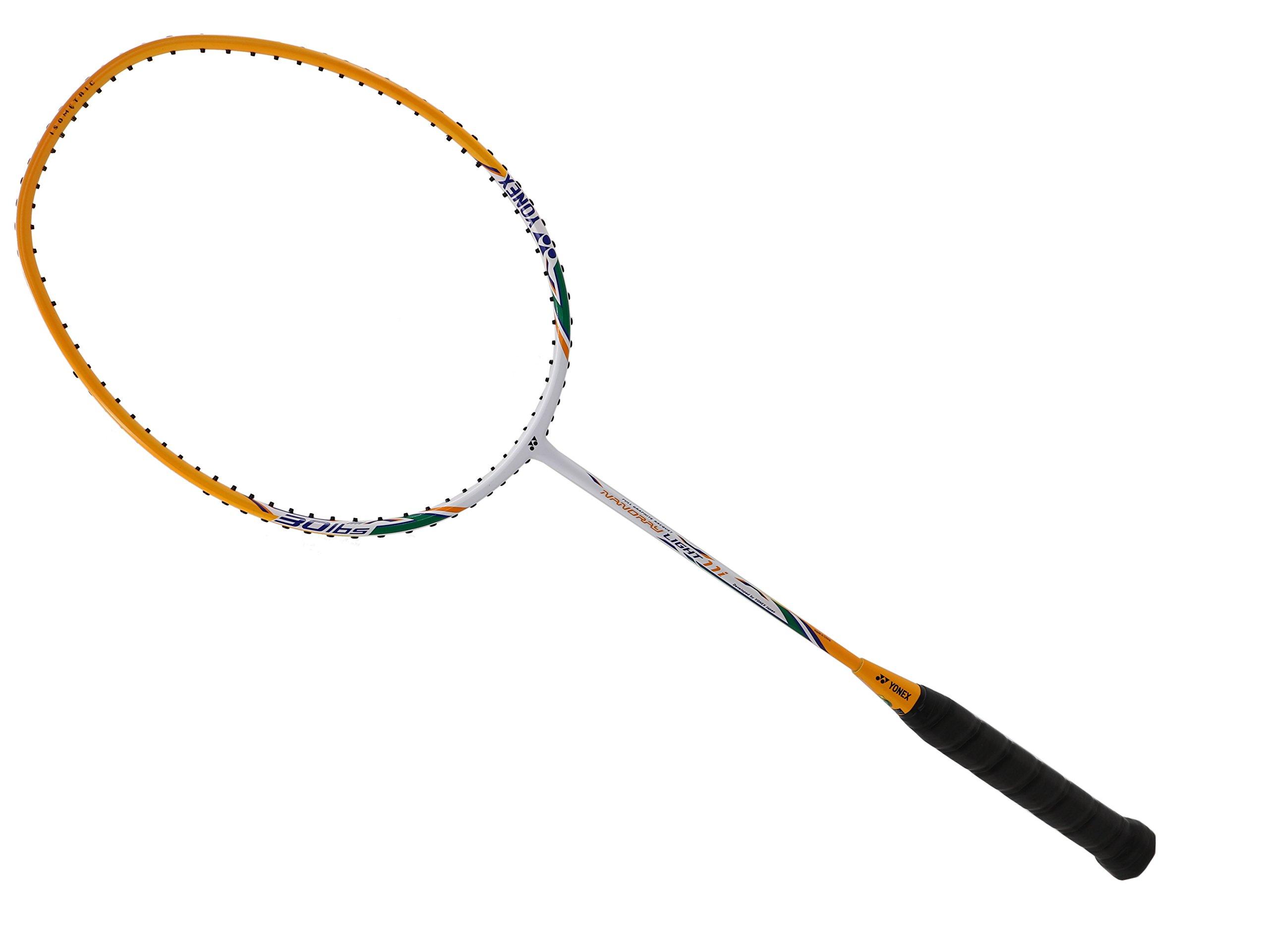 YONEX - Nanoray Light 11i iSeries NR-LT11IEX White Orange Badminton Racket (5U-G5)