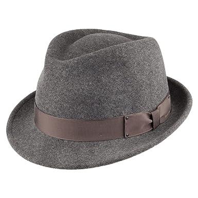 be4e807a5 Bailey Hats Wynn II Crushable Trilby - Grey: Amazon.co.uk: Clothing