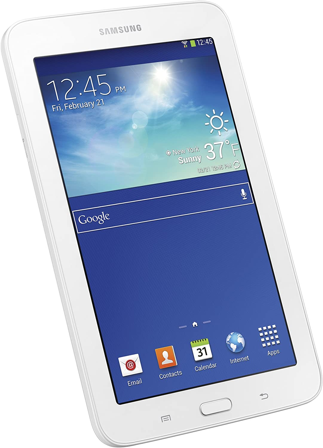 Amazon Com Samsung Galaxy Tab 3 Lite 7 Inch 8 Gb Tablet White Computers Accessories