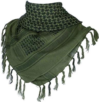 Mens Women Military Arab Tactical Desert Shemagh KeffIyeh Scarf Neck Wrap Snood