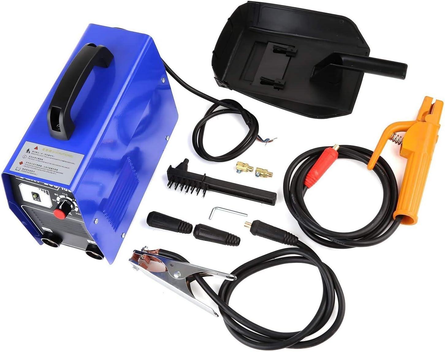 pour Usage Domestique 220 V avec Etui Fixkit Poste /à Souder Inverter IGBT Portatif /à Electrode en Courant Continu 200 A 20