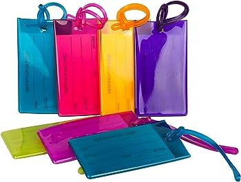 TravelMore Flexible Silicone Luggage Tag