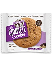 Lenny & Larry's The Complete Cookie, Oatmeal Raisin, 4-Ounce Cookies (Pack of 12)