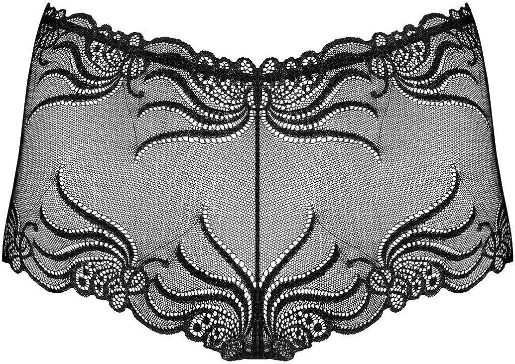 OBSESSIVE 828 Luxury Super Soft Decorative Lace Shorts