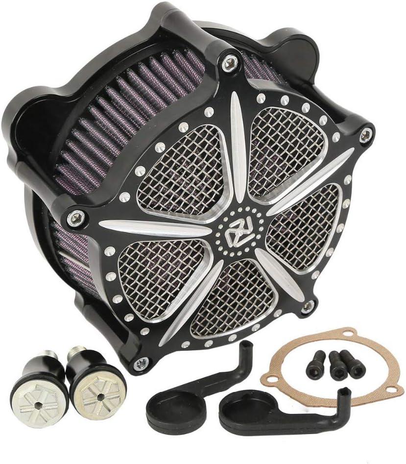 Motorrad Modifizierte Einlassfilter Luftfilter Luftfilter Für Harley Dyna Softail Touring Fat Boy Electra Glide Road King Auto