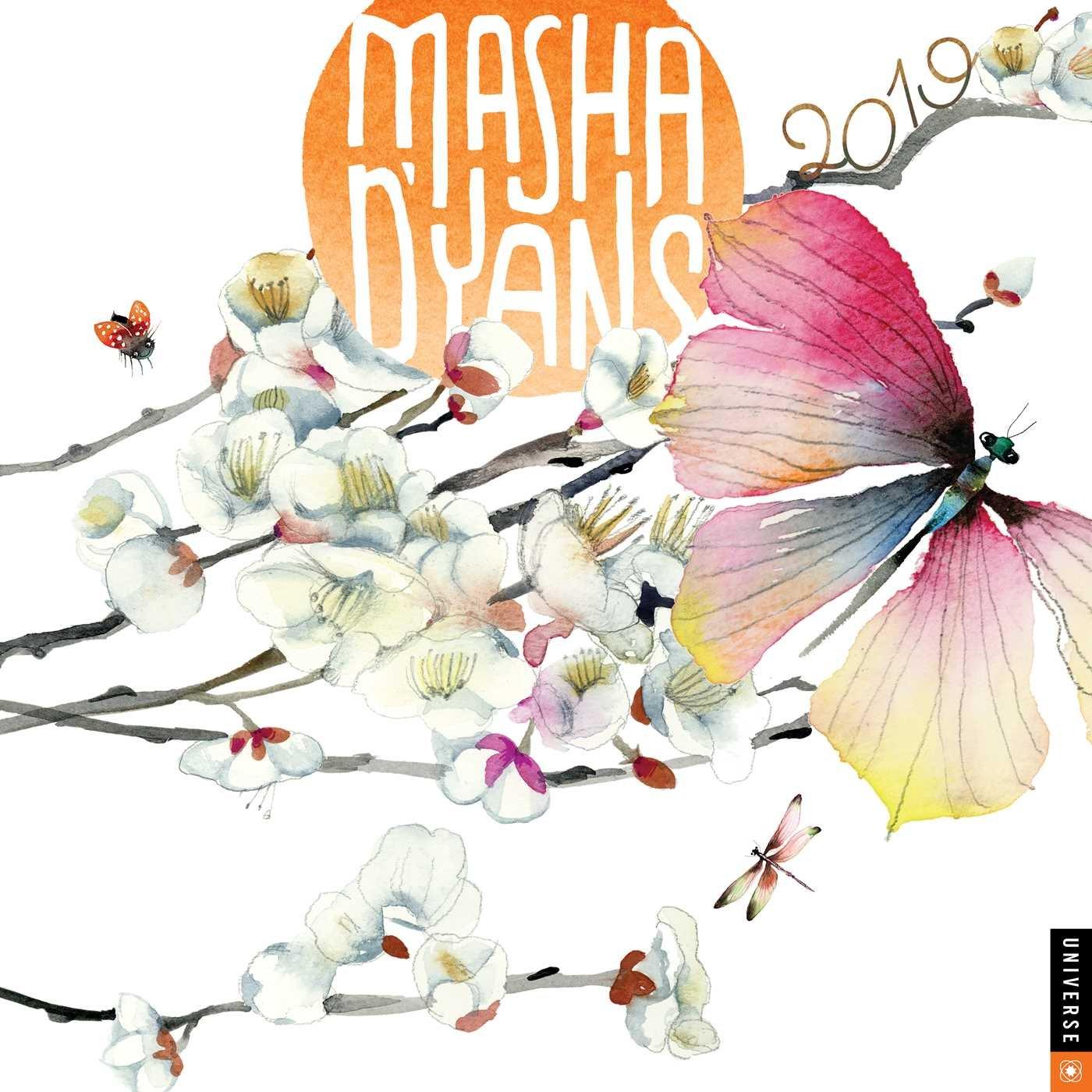 masha dyans 2019 wall calendar