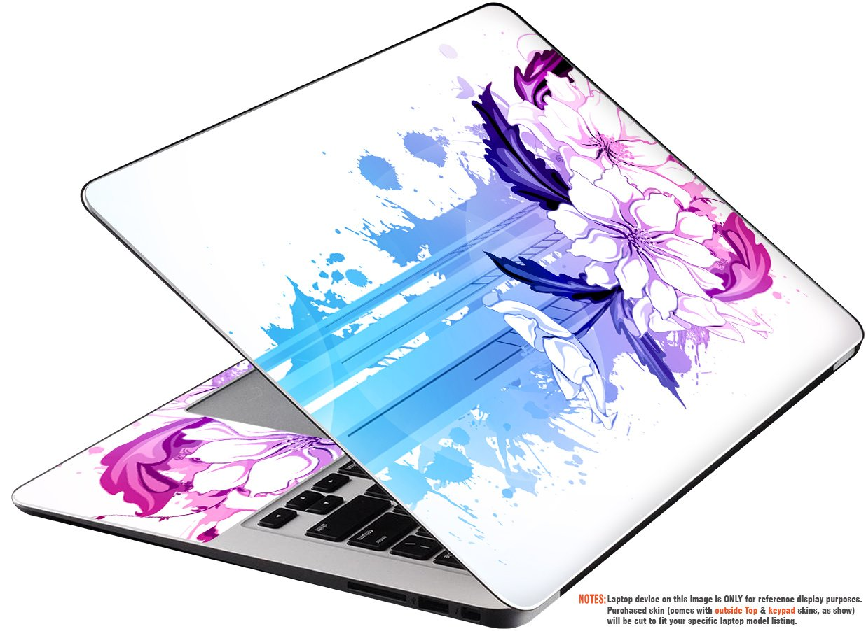 Decalrus Protective Vinyl Skin Decal for Lenovo ThinkPad T480S (14'' Screen) Case wrap cover sticker skins ThinkPad_T480S_TOP2PCS-99 by decalrus (Image #1)