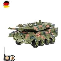 HSP Himoto German Leopard 2A7–RC Mini kstarz-Toys–Tanque teledirigido