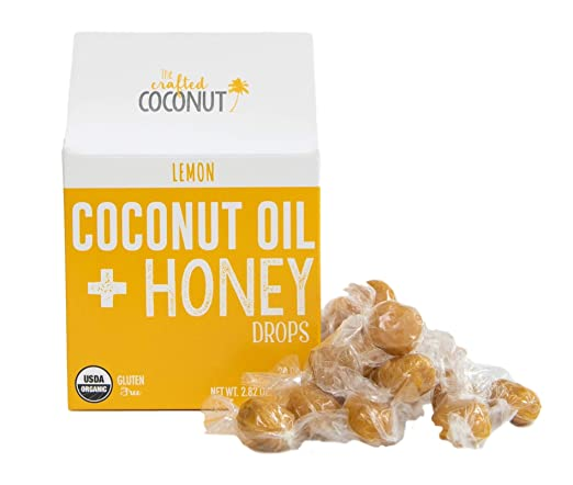 Amazon.com: Orgánico Aceite de Coco y miel gotas..., LEMON ...