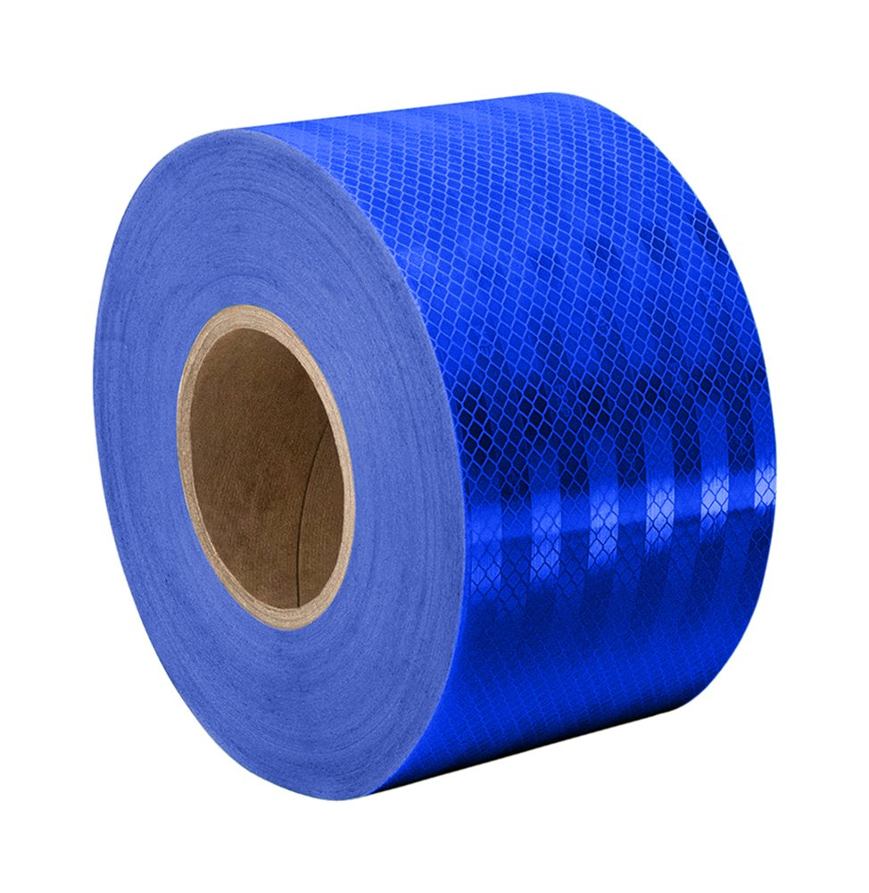 3M 3435 Blue Reflective Tape Roll – 2.75 in. x