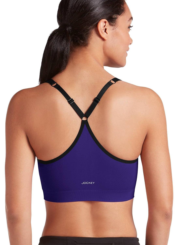 Jockey Womens Activewear Molded Cup Seamless Sports Bra