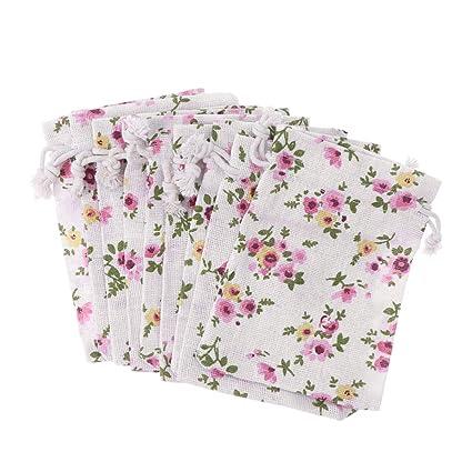 TOYANDONA 10 piezas pequeñas bolsas con cordón bolsa de ...