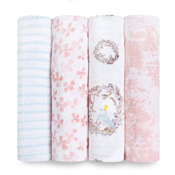Aden And Anais Swaddle Blankets Impressive Amazon Aden Anais Swaddle Baby Blanket 60% Cotton Muslin