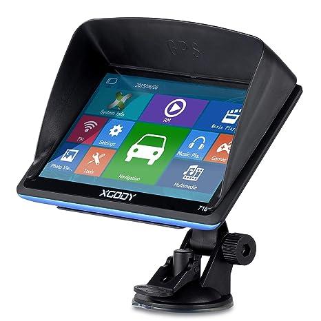 XGODY GPS 718,Navegador para Coche y Camión -Navegación de 7 ...