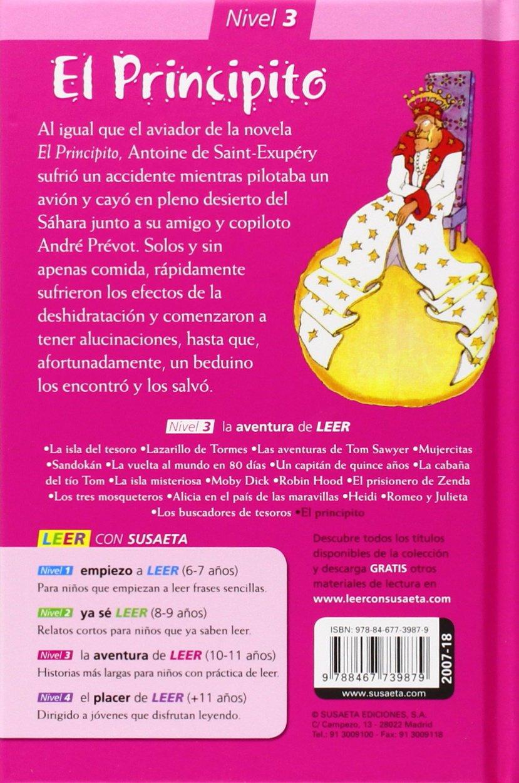 El Principito (Leer con Susaeta - nivel 3): Amazon.es: Saint ...