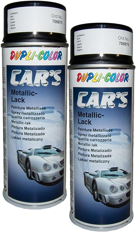Dupli Bundle 2x Dupli Color Cars Schwarz M 400ml 706875 Auto