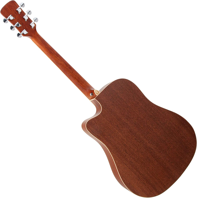 B-WARE Western Gitarre Akustik Dreadnought Cutaway Mittelalter