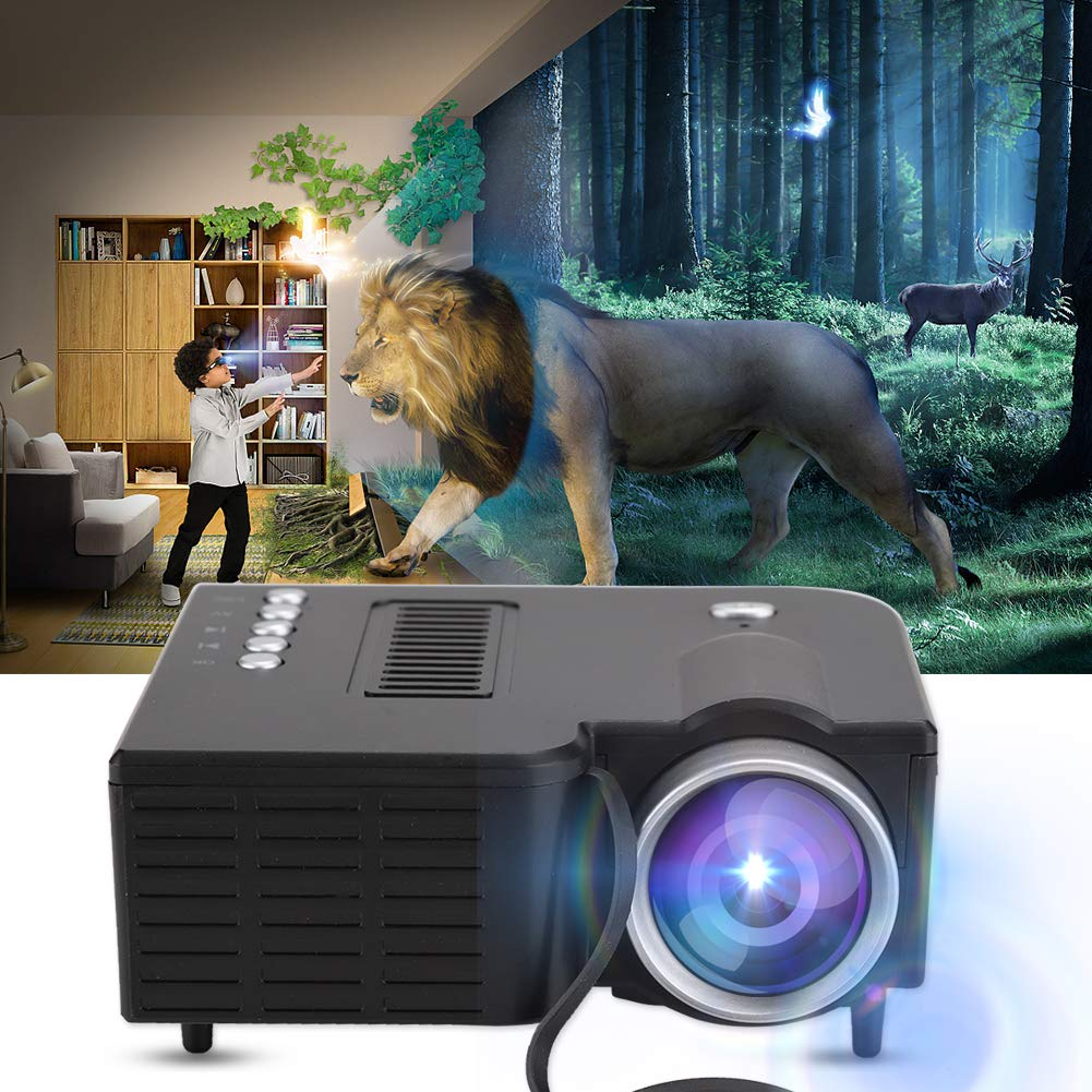 Tonysa Mini proyector, Mini proyector portátil Full HD 1920X1080 ...