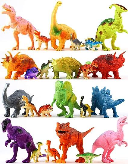 Amazon Com Dinosaurios Juguetes Para Ninos Y Ninas 12 Grandes Y 12 Pequenos Dinosaurios De Juguete Alfombra De Juego De Doble Cara Varios Dinosaurios Coloridos Suministros De Fiesta Figuras Este dinosaurio radiocontrol es increíblemente fiel al famoso. dinosaurios juguetes para ninos y ninas 12 grandes y 12 pequenos dinosaurios de juguete alfombra de juego de doble cara varios dinosaurios