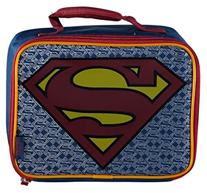 b3bc35dd4df Amazon.com  Superman Returns Insulated Soft Lunchbox Cooler Bag ...