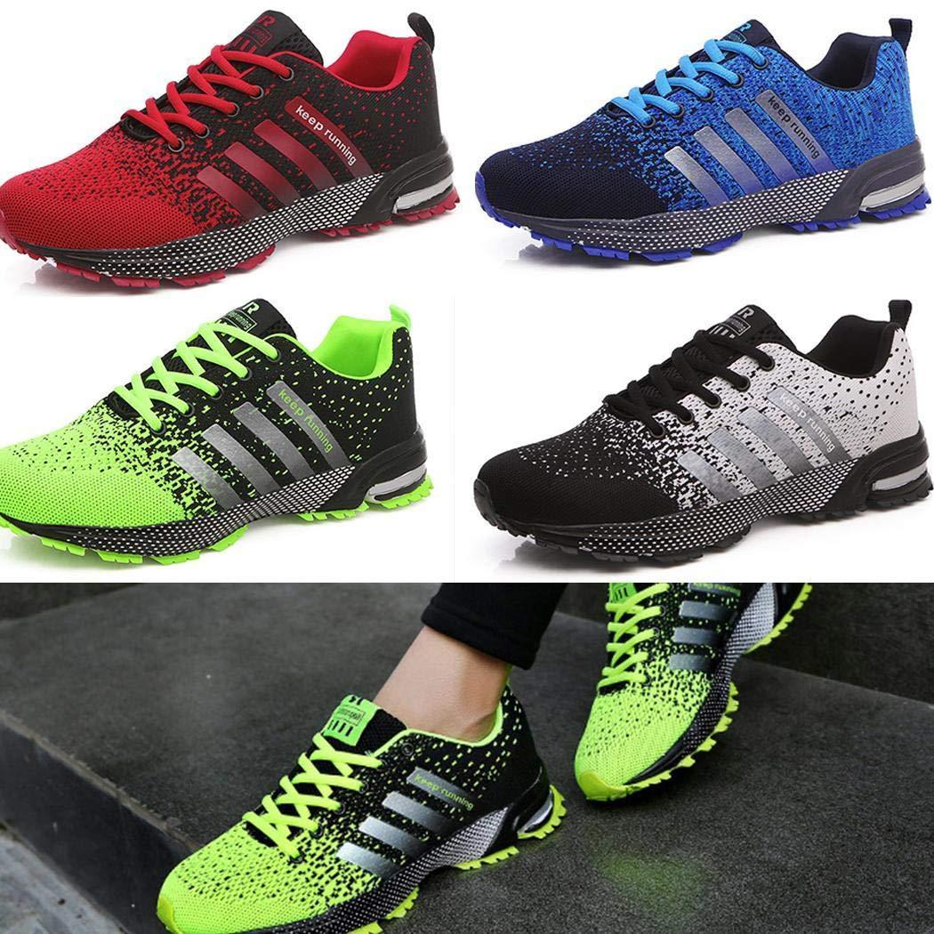 Murieo Scarpe da Corsa Scarpe Sportive Scarpe da Uomo Moda Traspirante Mesh Athletic Running Shoes Sneakers