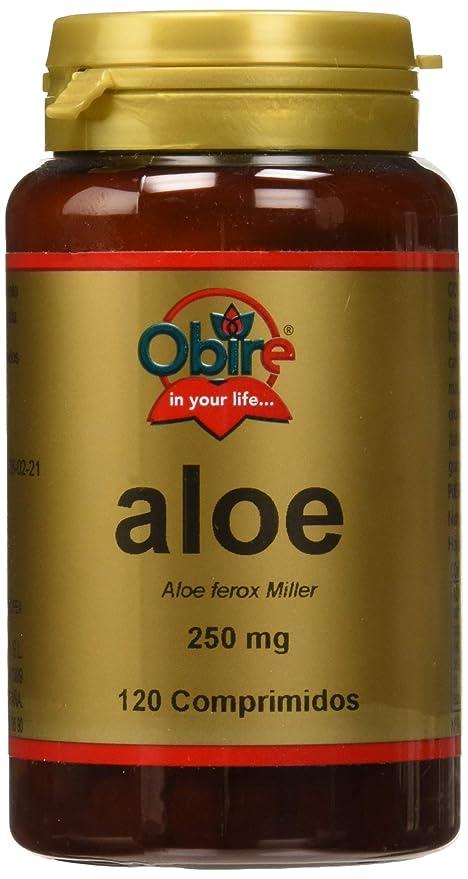 Obire - Aloe, 250 mg, 120 Comprimidos