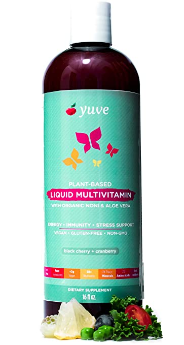 Yuve liquid vegan multivitamin