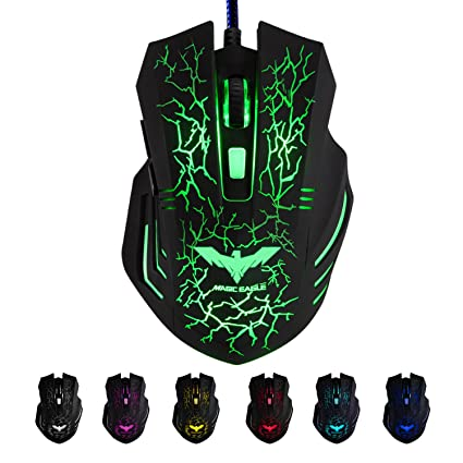 6b9da8ed0b0 Amazon.in: Buy Havit HV-MS672 Gaming Mouse (Black) Online at Low ...