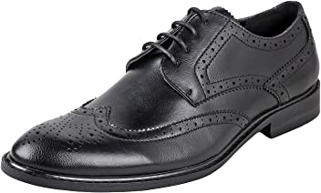 e411c4a17 Urban Fox Men's Ethan Oxford Dress Shoes for Men | Formal | Lace-Up