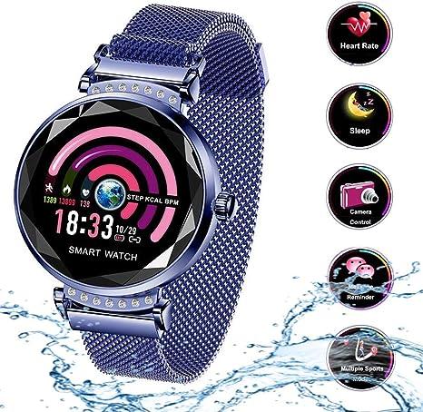 Smart Watch para Mujeres H2 Pulsera Actividad Inteligente con ...