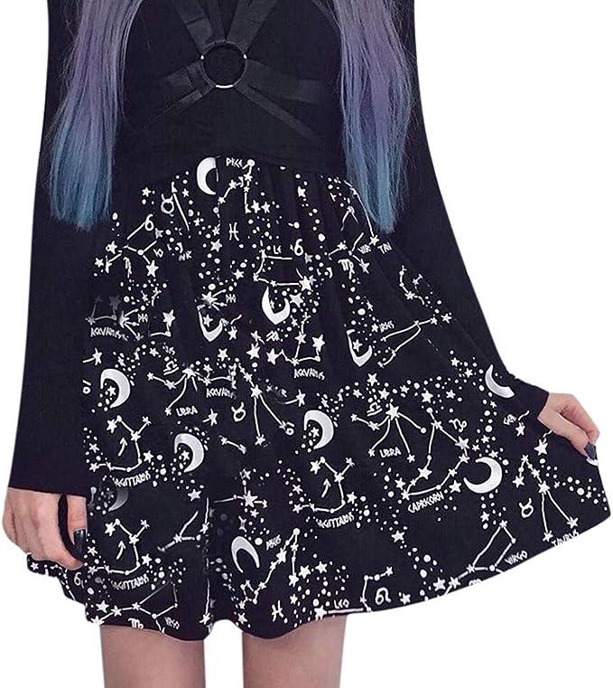 Sylar Faldas Mujer Cortas 2019 Falda Punk Gothic Party Mujer Falda ...