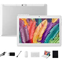 HOPESUNIN Tablet Android de 10.1 Pulgadas, Equipada con Sistema operativo Android 9 Pie, batería Recargable de 8000 mAh…