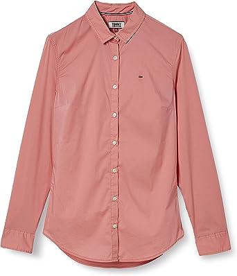 TALLA XS. Tommy Hilfiger Basic Stretch Blusa para Mujer