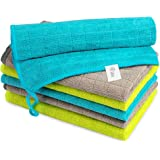 AIDEA Microfiber Cleaning Cloths Softer Highly Absorbent, Lint Free Streak Free for Tackling Any Cleaning Job with Ease…