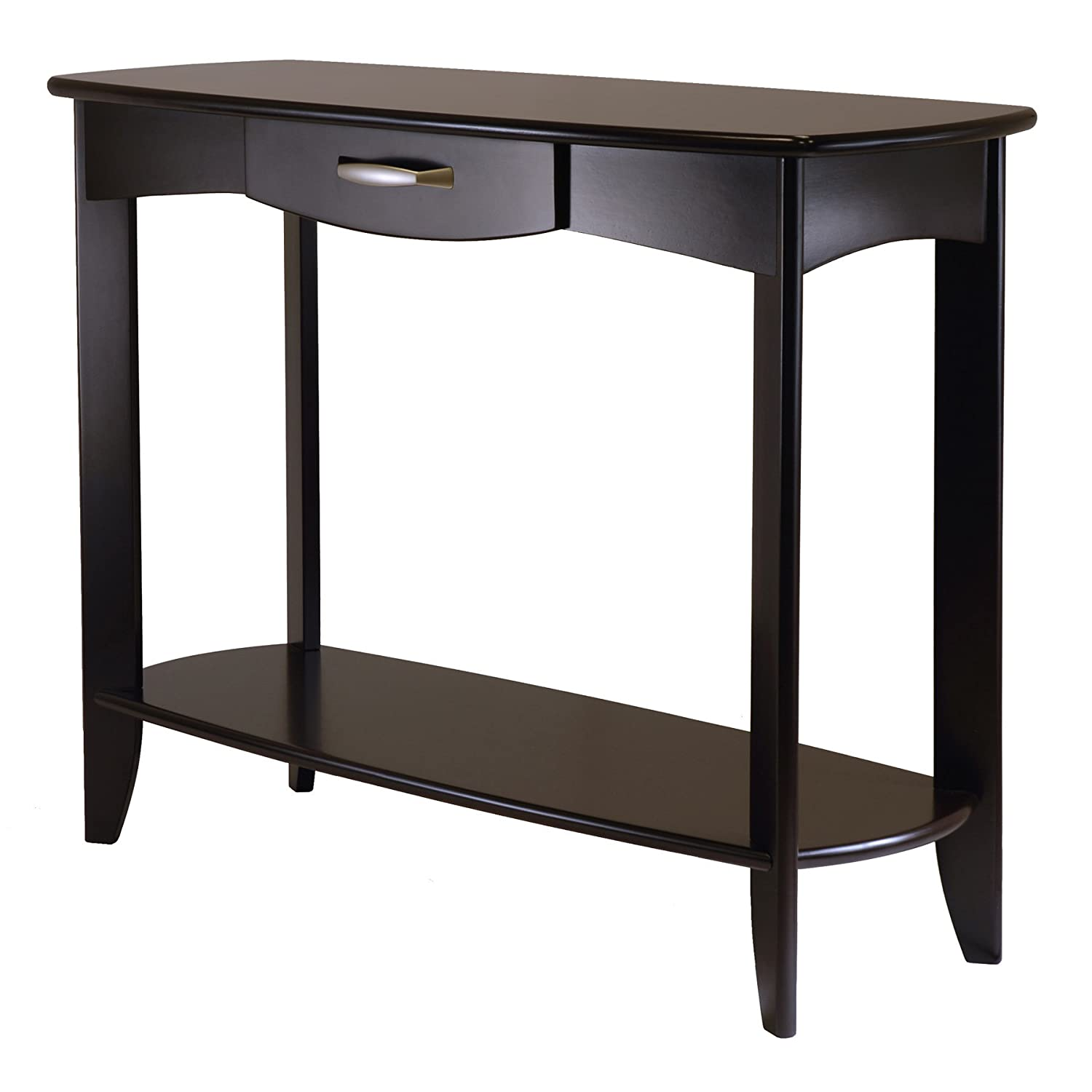 Amazon winsome wood danica console table kitchen dining geotapseo Choice Image